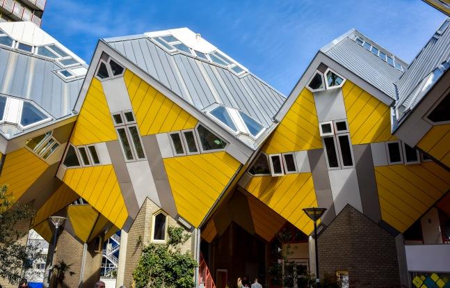 Rotterdam Et Ses Maisons Cubiques Va Voir L Art